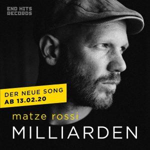 Neuer Song Matze Rossi Milliarden